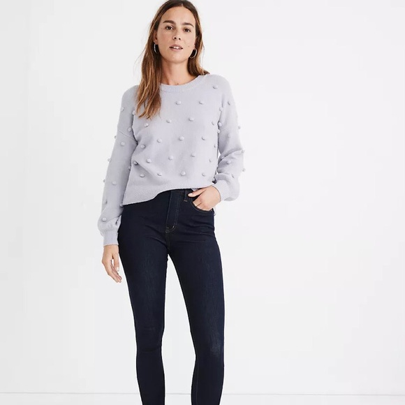 Madewell Brockton Bobble Sweater